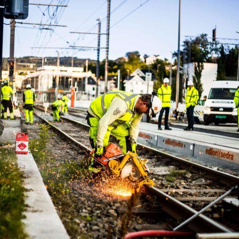 rolfsen og juell stål og jernbane ekspert i norden